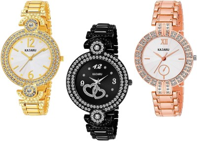 KAJARU L_1054 PACK OF 3 WATCHES FOR GIRLS Watch  - For Women