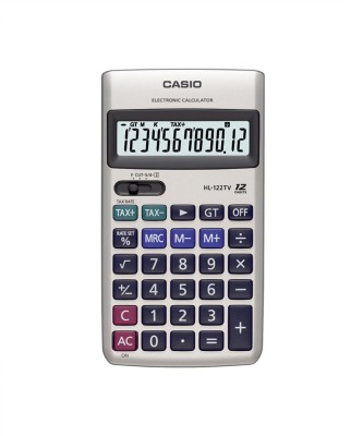 Casio HL-122TV Portable Basic  Calculator