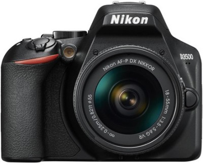 Nikon D3500 DSLR Camera Body with 18-55 mm