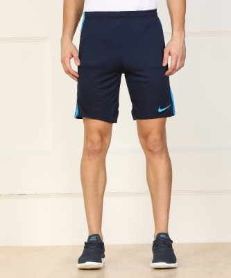 Nike Solid Men Dark Blue Sports Shorts