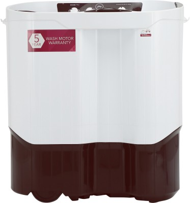 Godrej 8 kg Semi Automatic Top Load Washing Machine White, Maroon