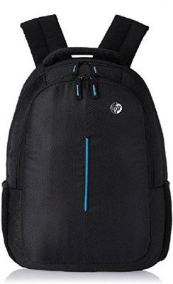 HP 15.6 inch Expandable 20 L Laptop Backpack (Black) Waterproof School Bag