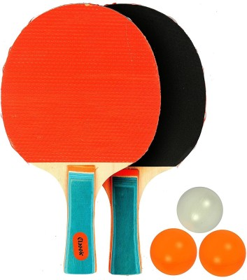 WOLPHY CLASSIC TABLE TENNIS BAT SET WITH 3 BALLS Table Tennis Kit