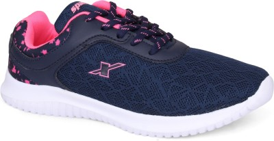 Sparx Women SL-124 Navy Blue Pink Running Shoes For Women