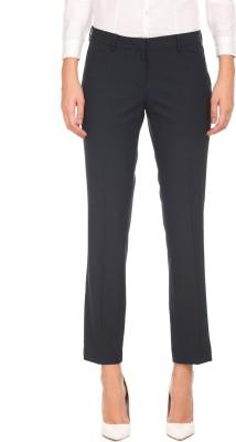 Arrow Regular Fit Women's Dark Blue Trousers