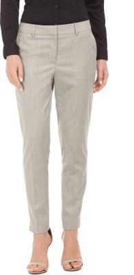 Arrow Tapered Women Beige Trousers