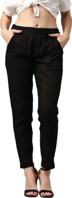 Style N Shades Regular Fit Women Black Trousers