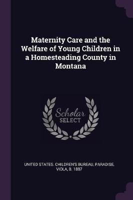 Maternity Care and the Welfare of Young Children in a Homesteading County in Montana