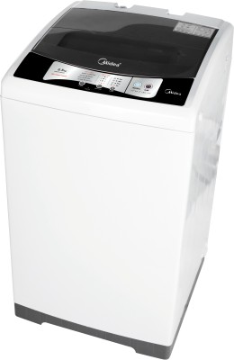 Midea 6.5 kg Fully Automatic Top Load Washing Machine White, Grey