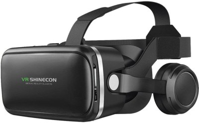 DMG VR Shinecon Dream 45MM Lens Adjustable Headset with Touch Controls and Gaming Headphones
