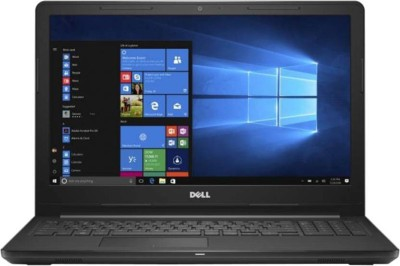 Dell Inspiron 15 3000 Series Core i3 7th Gen - (4 GB/1 TB HDD/Windows 10 Home) 3567 Laptop