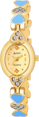 AMNBANGLE-908 GOLD DIAL ANALOG WATCH FOR WOMEN Watch  - For Girls