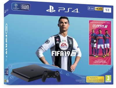 Sony PlayStation 4 (PS4) 1 TB with FIFA 19