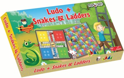 Miss & Chief Ludo + Snake & Ladder Board Game