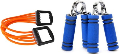 Lord Chest Expander + Form Hand Grip Gym & Fitness Kit