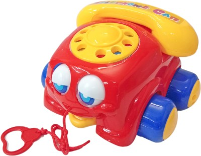 Miss & Chief Pull line Phone Car