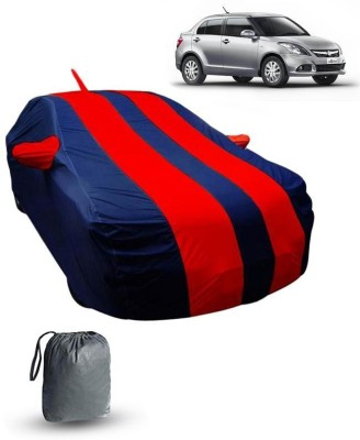 FABTEC Car Cover For Maruti Suzuki Swift Dzire (With Mirror Pockets)