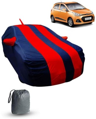 FABTEC Car Cover For Hyundai Grand i10 (With Mirror Pockets)