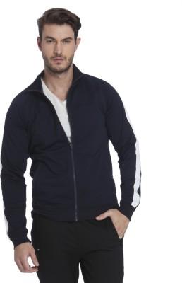 Jack & Jones Full Sleeve Solid Men Sweatshirt