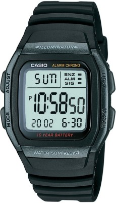 Casio D054 W-96H-1BVDF Youth Series Analog-Digital Watch  - For Men