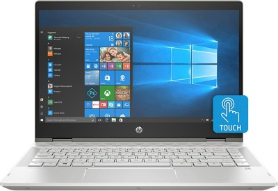 HP Pavilion x360 Core i3 8th Gen - (4 GB/1 TB HDD/8 GB SSD/Windows 10 Home) 14-cd0077TU 2 in 1 Laptop