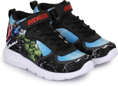 Avengers Boys Velcro Running Shoes