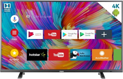MarQ by Flipkart Dolby Certified Android 65 inch(165 cm) Ultra HD (4K) Smart LED TV