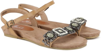 Miss CL By Carlton London Women NUDE Flats