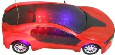 RV PROSHOP 3 D Lightning and Musical Car (Red)