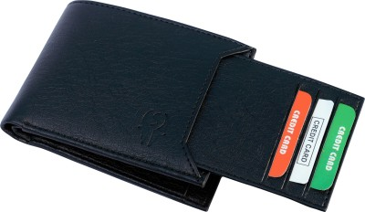 SAMTROH Men Casual Black Artificial Leather Wallet