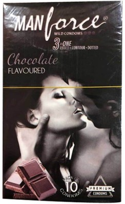 Manforce Chocolate Flaoured (Pack of 10) Condom
