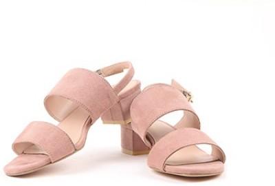 Miss CL By Carlton London Women Pink Heels