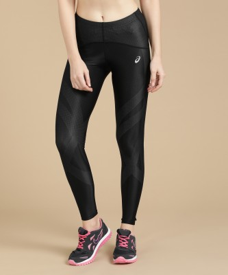 Asics Printed Women's Black Tights