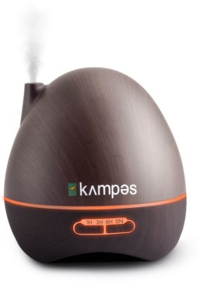 kampes Ultrasonic Aroma Diffuser (300 ml) with Remote Control Technology - Wood Grain (20 ml Lavender Oil) Portable Room Air Purifier