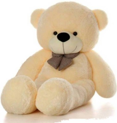 SOFT TEDDY 4 Feet Large Cream Jumbo Teddy Bear Soft toys - 121.5 cm  - 121.5 cm