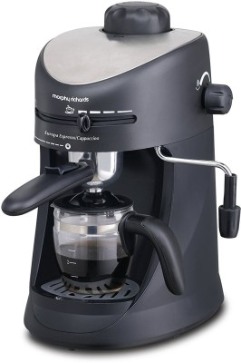 Morphy Richards New Europa Espresso/Cappuccino CM 4 Cups Coffee Maker