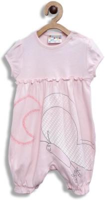 Eimoie Baby Boys & Baby Girls Pink Bodysuit