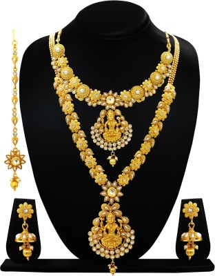 ARTS CHETAN Brass Jewel Set