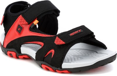 Sparx Sparx Men SS-453 Black Red Floater Sandals Men Black, Red Sandals