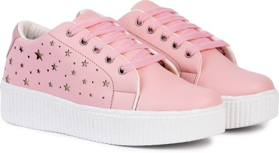 Longwalk Girls Casual Partywear Sneakers For Women