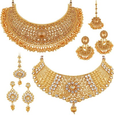 Apara Alloy Jewel Set