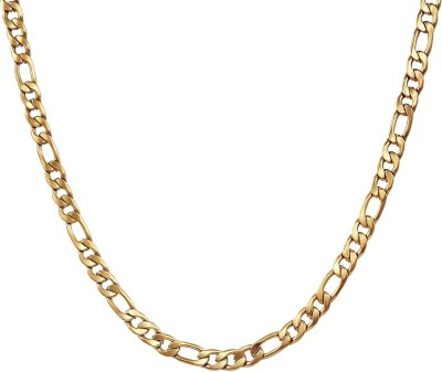 Nakabh Gold-plated Plated Stainless Steel Chain