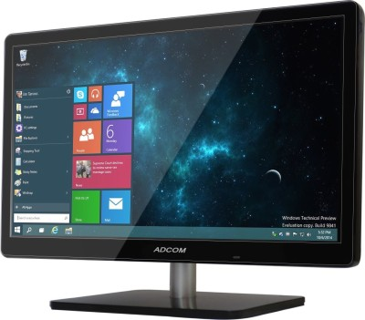 Adcom 18.5 inch HD LED Backlit Monitor (18.5 Inch (1902 Led Monitor) with HDMI)
