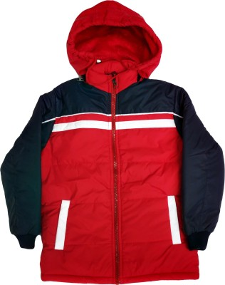 AD & AV Full Sleeve Colorblock Boys & Girls Jacket