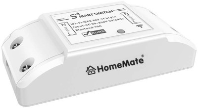 HomeMate WiFi Smart Switch (Pack of 1) | No Hub Required | Compatible with Alexa, G home and IFTTT