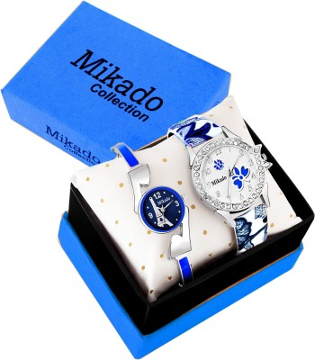 Mikado Blue Alice New Analog watches combo For Girls And Women Analog Watch  - For Women