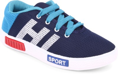 Extavo Boys & Girls Lace Running Shoes