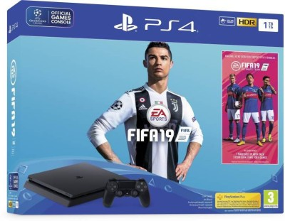 Sony PlayStation 4 1TB with FIFA 19 (Champions Edition) BUNDLE
