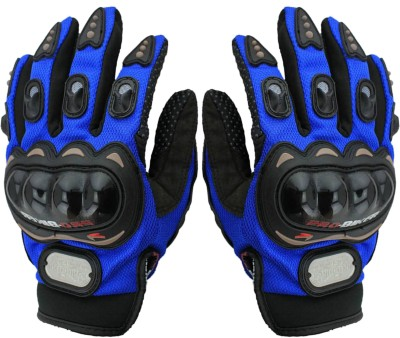 Probiker Full Riding/Driving/Cycling Sports Gloves/Riding Gear-AKZ2468 Riding Gloves (L, Blue)