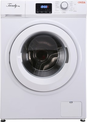 Onida 7.5 kg Fully Automatic Front Load Washing Machine with In-built Heater White